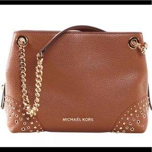 66eb6b2301d3 Women s Michael Kors Jet Set Chain Medium Leather Shoulder Bag on ...
